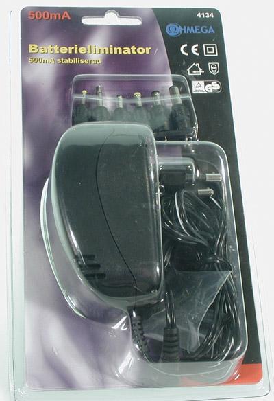 Batteri El.stabb 600ma Switch