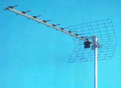 Uhf Antenn 13 El Jagi/grid