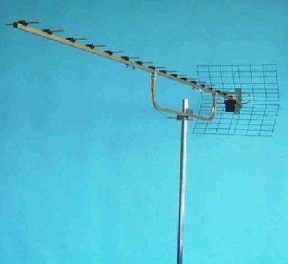 Uhf Antenn 20 El Jagi/grid