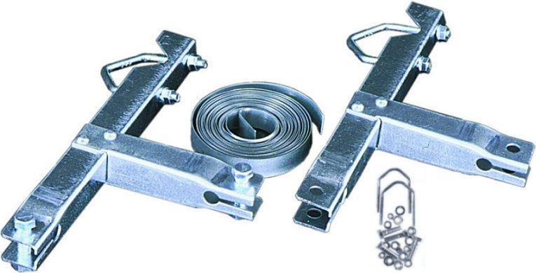 Skorstensfäste För 30-50mm Rör