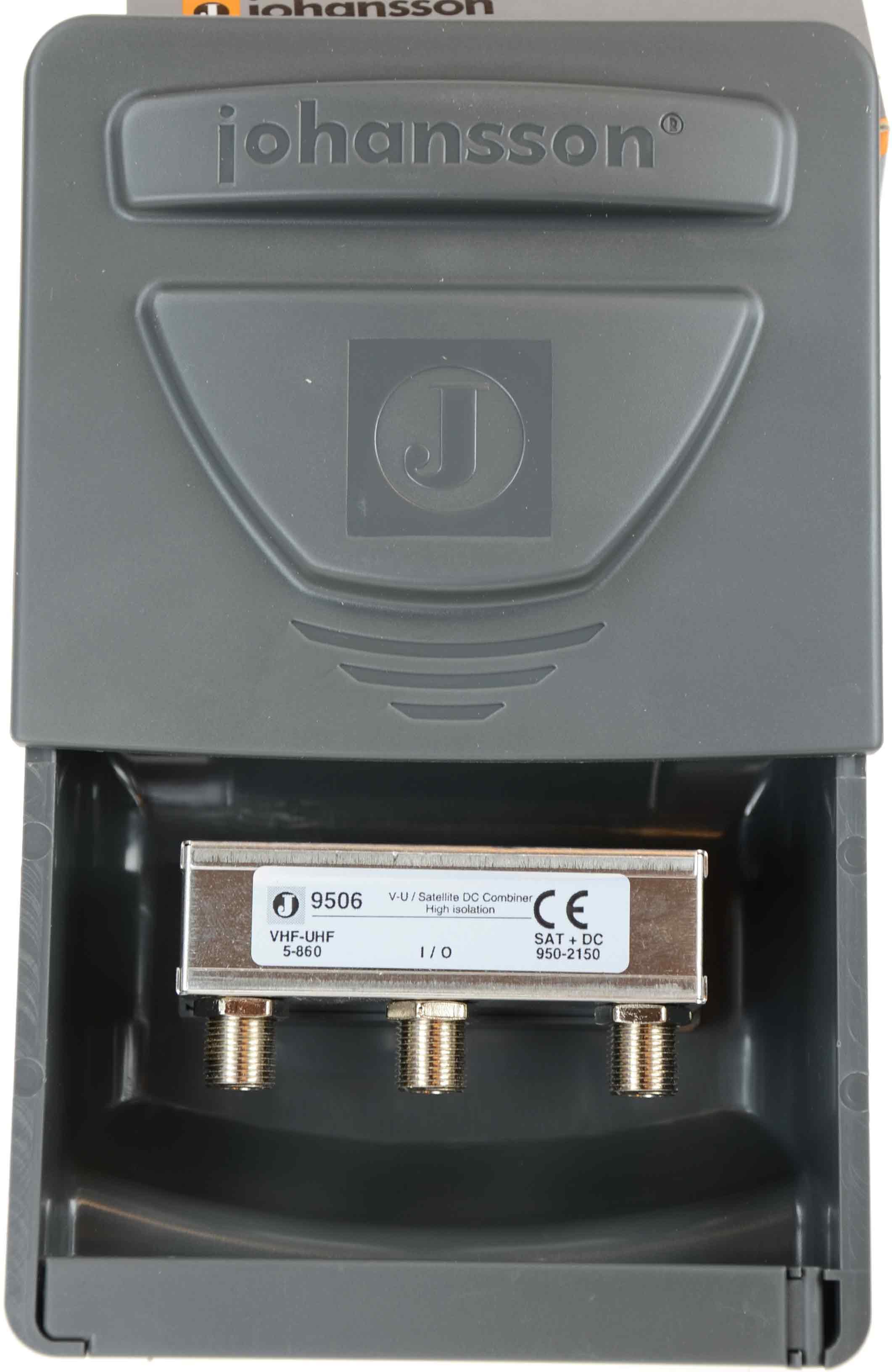 Combiner  75 ohm till VHF UHF