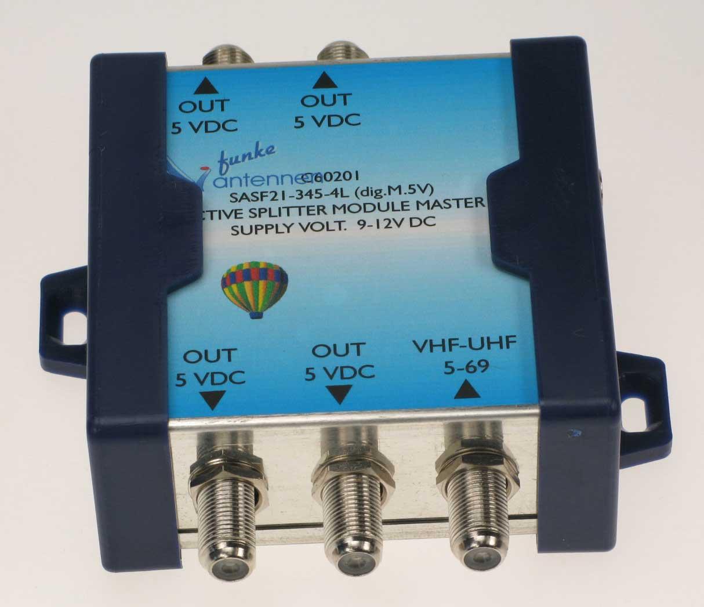 Funke Aktiv Signalsplitter 1-4