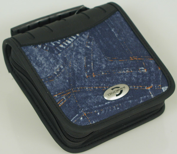 Cd Wallet Denim Style 32cd