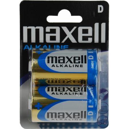 Maxell Lr-20 2-pack Blister