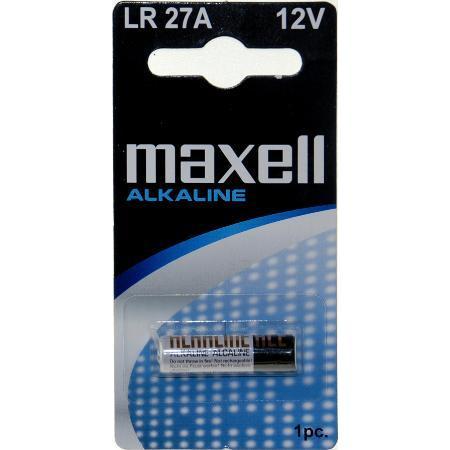 Maxell Lr-27 A 12v batteri