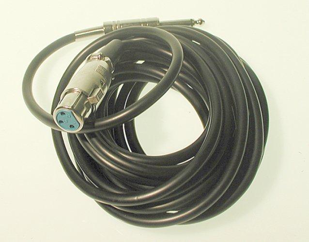 Ansl.kabel Xlr Hon-6.3 Han Mon