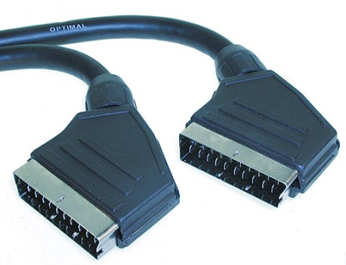 Scart Kabel 21 P 1.0 Mt Hq