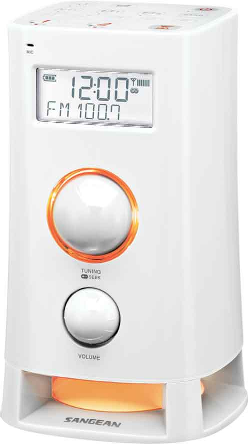 Sangean Mini Tower Fm/am Vit
