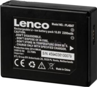 Lenco Batteri PLAYLINK 4