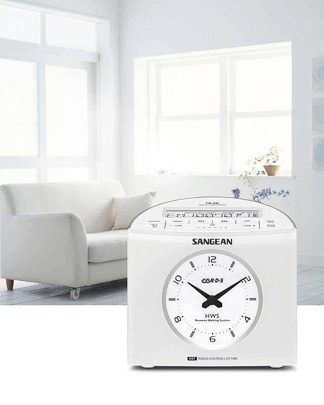 Sangean Klockradio Snabbval