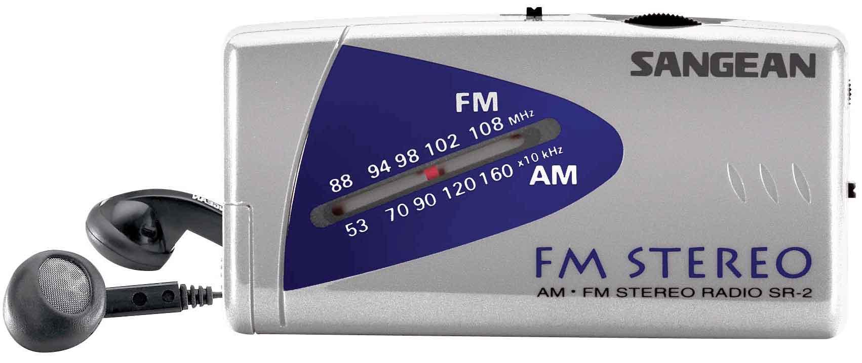 Sangean Fickradio Fm Stereo/mw