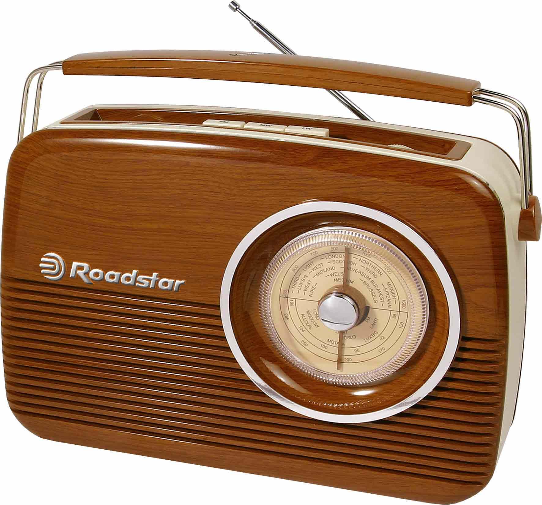 Roadstar Vintage line Trä FM